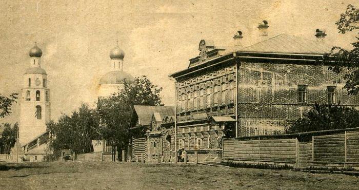 Дом лесопромышленника Т.В.Чулкова. Начало ХХ века. г. Царевококшайск